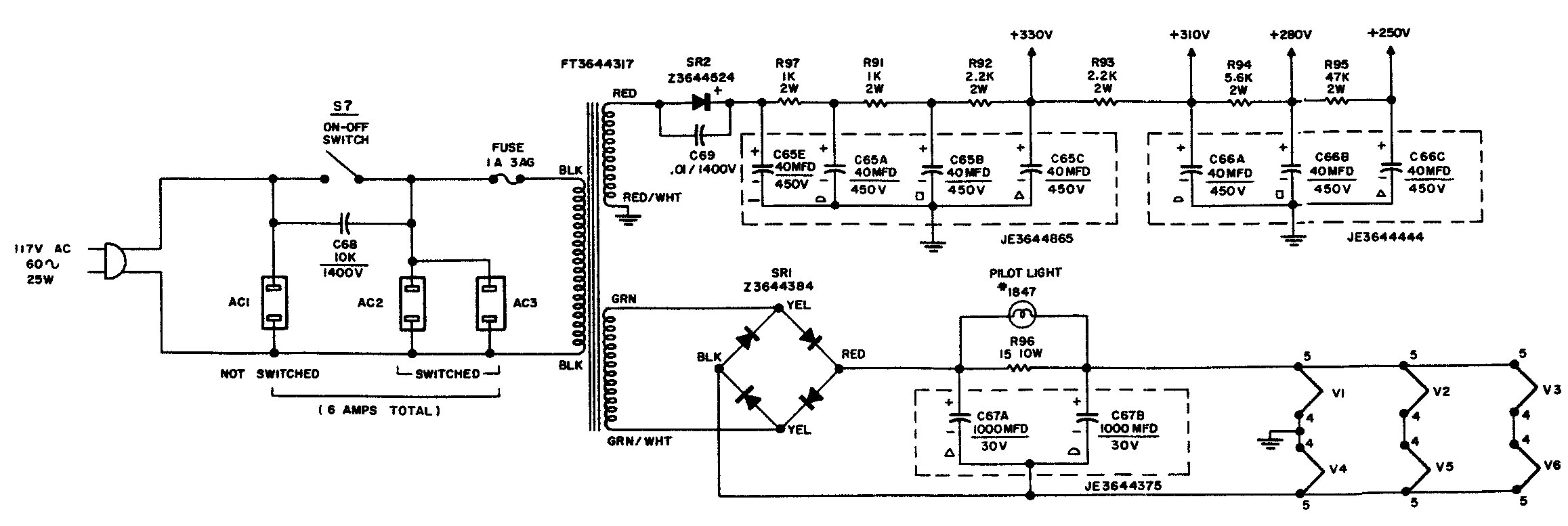 Citation Click For Full Schematic Diagram Here The Iv Power Supply